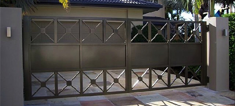 Hand Crafted Gates Aluminium Custom Design Amp Instalation